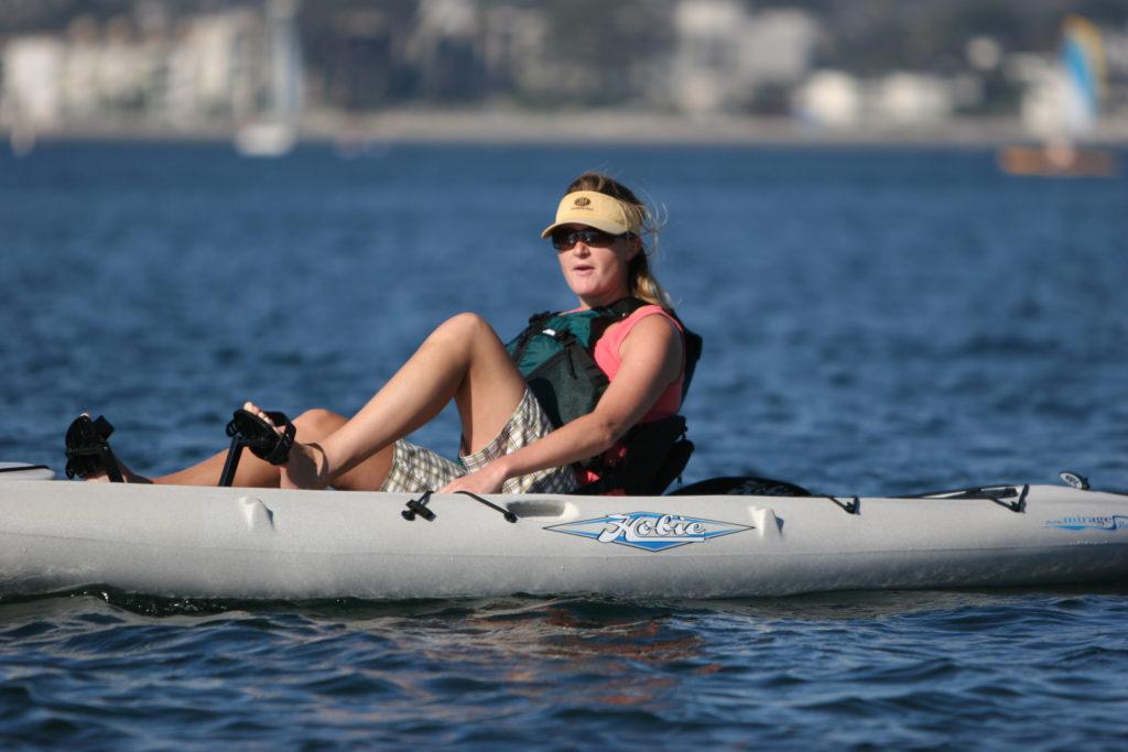 louer un kayak à pédales